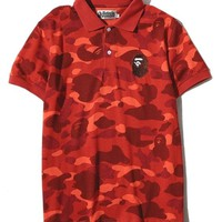 BAPE POLO LARGE APE