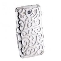 TOOGOO New Grapevines Hollow Vines Hard Back Case for Samsung Galaxy S3 i9300 - Silver