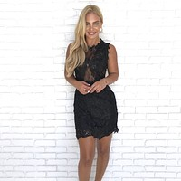 Lindsey Lace Bodycon Dress