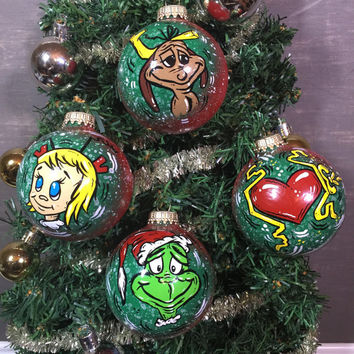 How the Grinch Stole Christmas Ornaments