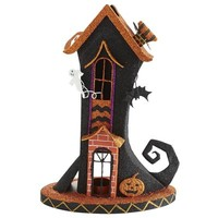 Witch Boot House Tealight Holder