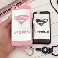 Supermen Superwomen Mirror Case for iPhone