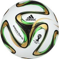 adidas Brazuca 2014 Final Rio Official Match Ball - White/Green | DICK'S Sporting Goods