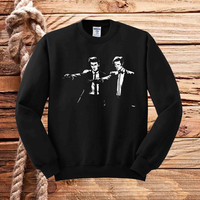 Doctor Who Pulp Fiction sweater unisex adults