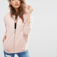ASOS The Ultimate Bomber Jacket In Jersey at asos.com