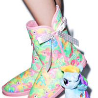 Iron Fist My Little Pony Tall Fugly Boot Multi