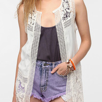 Urban Outfitters - Staring At Stars Crochet Vest