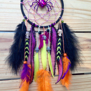 "Halloween decor 5"" Dream Catcher"