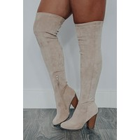 Dream On Boots: Nude