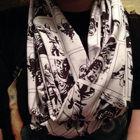 The Walking Dead Zombies Infinity Scarf