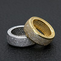 Iced Out Micro Pave Ring