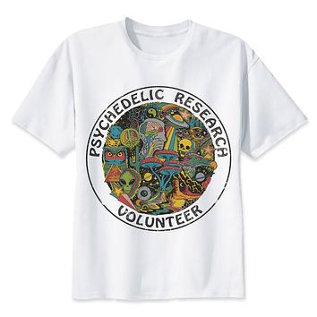 Men's Psychedelic Research Volunteer T-Shirt