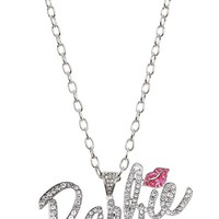 Barbie Pink Kiss Bling Necklace - 138111