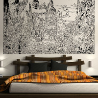 Vinyl Wall Decal Sticker Xuanzong's Journey To Shu #5422