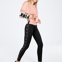 Cotton Logo Legging - PINK - Victoria's Secret