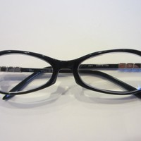 Black Eye Wear Dior Chrome Accent Made in Japan