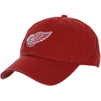 '47 Brand Detroit Red Wings Cleanup Adjustable Hat - Red
