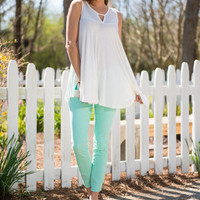 Day To Dream Skinny Jeans, Mint