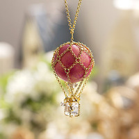 N0028 // Pink Balloon Necklace // Family Gift, Birthday Gift, Everyday Jewelry