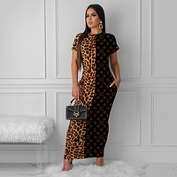LV LOUIS VUITTON Long Maxi Dress