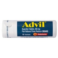 Advil® Pain Reliever/Fever Reducer Coated Tablet, 200mg Ibuprofen - 10ct/2pk