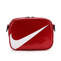 NIKE Trending Women Men Stylish Crossbody Satchel Shoulder Bag Red