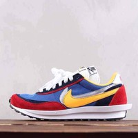 DCCK2 N300 Nike Air Vapormax FX LVD Daybreak Fashion Running Shoes Blue Red Yellow
