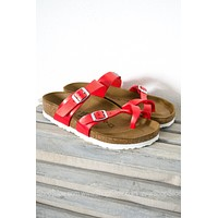 Mayari Birkenstocks | Graceful Hibiscus