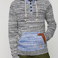 CPO Marled Henley Hoodie - Urban Outfitters