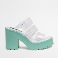 Miista AVA MINT SPECKLE