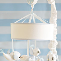 New Arrivals Song Bird in Blue Crib Mobile