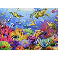 Ravensburger Tropical Waters Jigsaw Puzzle - Puzzle Haven