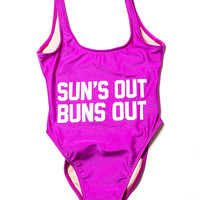 Private Party Sun's Out Buns Out Swimsuit