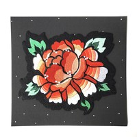 Burst and Bloom Iron-On Back Patch