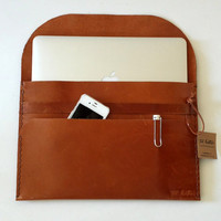 11'' / 13 /15'' Macbook SleeveGenuine Leather by toxleather