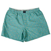 Hanover Oxford Boxers in Jockey Green by Southern Marsh