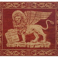 Leone Rosso Tapestry Wall Hanging