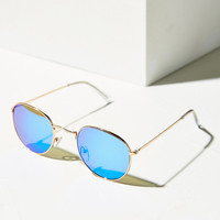 Round Metal Sunglasses | Urban Outfitters