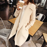 Double Breasted Fall Coat