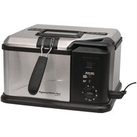 MasterBuilt 20010610 Electric Fish Fryer 1650W Countertop Up to 375°F