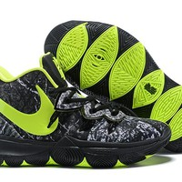 Taco x Nike Kyrie 5 Black/Fluorescent Green Basketball Shoes