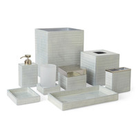 Delano Luxury Bath Accessories-Silver