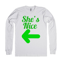 She's Nice Christmas BFF Shirt