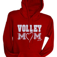 Volleyball MOM Hoodie (VOLLEY MOM)