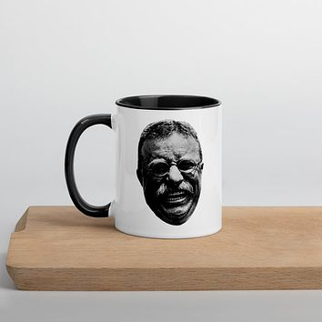 Teddy Roosevelt Laughing Maniacally Mug