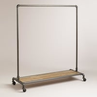 Clea Pipe Clothes Rack - World Market