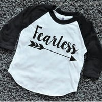 Baby Boy Clothes Fearless Baby Boy Hipster Shirt Raglan Arrow Hipster Baby Clothes 079