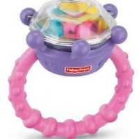 Fisher-Price Brilliant Basics Diamond Ring Rattle (Discontinued by Manufacturer)