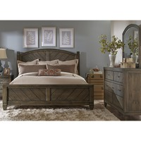 Liberty Furniture Modern Country Poster Bedroom Set by Liberty Furniture for $919.25 only at FIGStores.com.