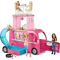 Barbie Pop-up Camper [Amazon Exclusive]: Toys & Games